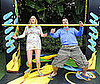 Photos of Whitney Port and Robert Buckley Doing the Limbo