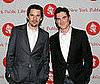 Photo of Ethan Hawke and Billy Crudup at the 2009 Young Lions Fiction Awards at the New York Public Library