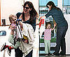 Photos of Jennifer Garner Picking Up Violet Affleck From School
