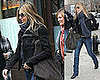 Jennifer Heads to Rehersals