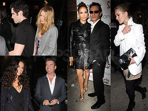 Photos of Kate Moss, Jennifer Lopez, and Blake Lively Party For Topshop at The Box in NYC