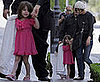 Photos of Katie Holmes and Suri Cruise at the American Girl Store at The Grove in LA