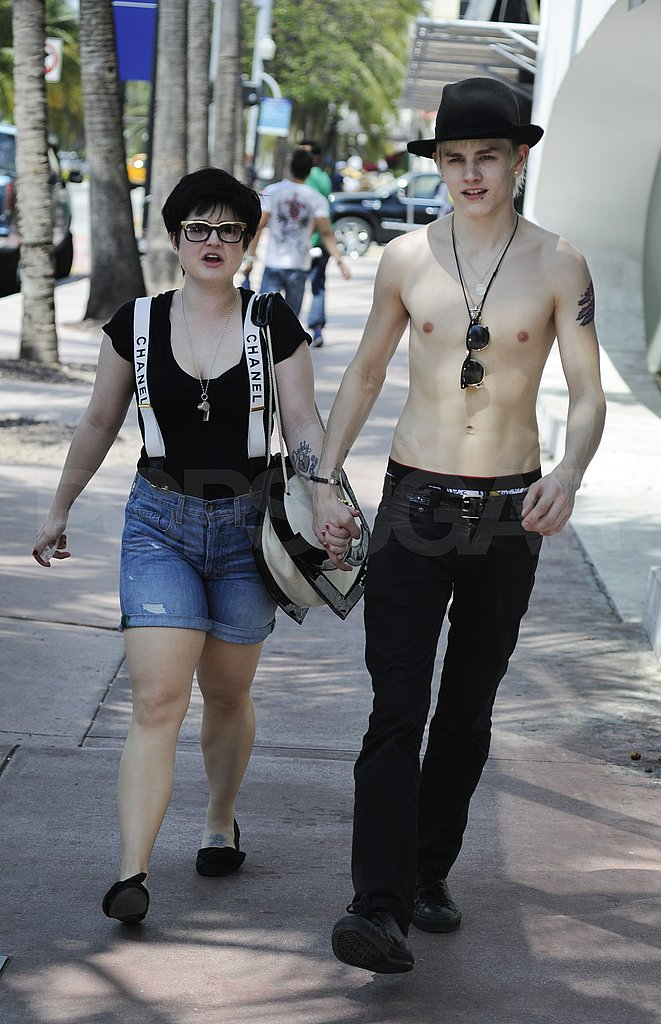 Kelly Osbourne in Miami