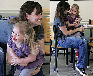 Photos of Jennifer Garner and Her Daughter Violet Affleck Looking Adorable Eating Ice Cream