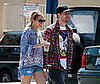 Photo of Pregnant Nicole Richie and Joel Madden Out in LA