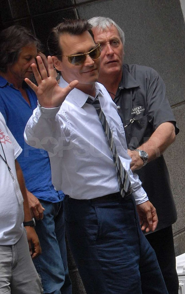 Johnny Depp in PR