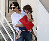 Photo of Katie Holmes and Suri Cruise Leaving a Dance Class in LA