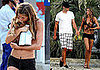 Gisele Heads Into Town in String Bikini With Tom in Slippers