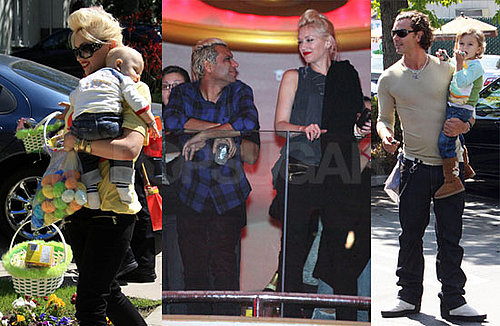 Photos of Gwen Stefani, Gavin Rossdale, Zuma Rossdale, Kingston Rossdale Out and About in LA