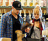 Photo of Nicole Richie and Joel Madden Shopping at Barneys in LA