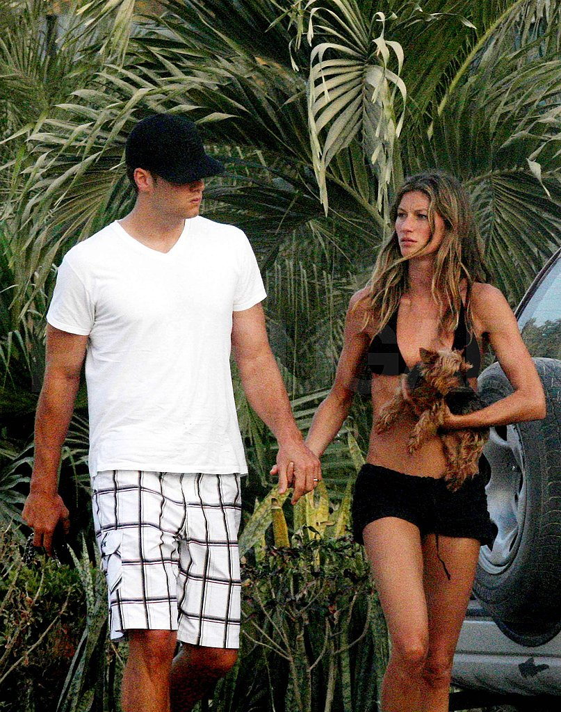 Tom and Bikini Clad Gisele in Costa Rica
