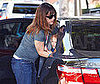 Photo of Jennifer Garner Picking Up Violet Affleck from School