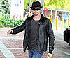 Photo of Hugh Jackman Arriving at a Sydney Children's Hospital with Toys