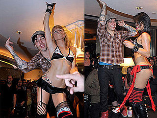 Photos of Pete Wentz Dancing With Exotic Dancers in Las Vegas