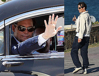 Photos of Johnny Depp on the Set of The Rum Diary in Puerto Rico 2009-04-14 06:00:07