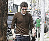 Photo of Adam Brody Out for Lunch in LA