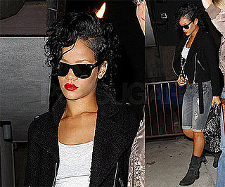 Photos of Rihanna at Recording Studio in LA, Chris Brown Reportedly Dating His Ex-Girlfriend