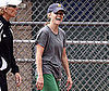 Photo of Reese Witherspoon Laughing and Playing Softball in LA