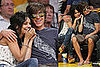 Photos of Zac Efron and Vanessa Hudgens at Lakers Game