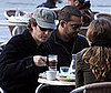 Photo of Ed Norton and David Blaine Having Coffees in Venice Ahead of Salma Hayek's Wedding