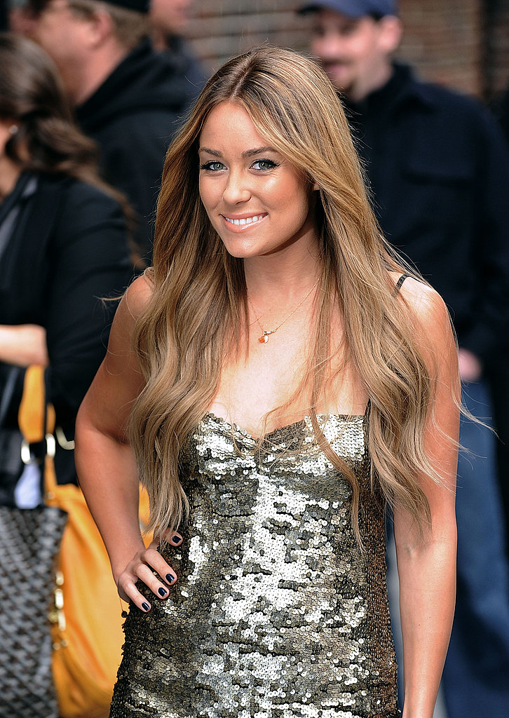 Lauren Conrad Heads to Letterman
