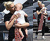Photos of Gwen Stefani Going to the Recording Studio With Zuma Rossdale