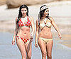 Photo of Kim and Kourtney Kardashian in Their Bikinis in Mexico
