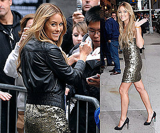 Video of Lauren Conrad on the Late Show With David Letterman