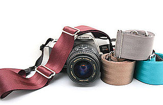 Eco-Friendly Repurposed Seat Belt Camera Straps Keep Your Camera Safe