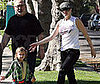 Photo of Gwen Stefani and Kingston Rossdale Out at Her Parents' House