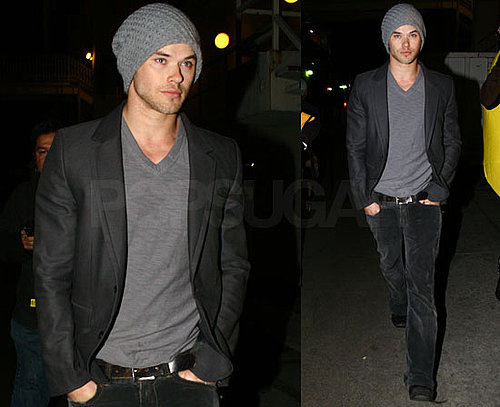 Photos of New Moon's Kellan Lutz Promoting New Moon in Sydney, Australia