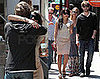 Photos of Chace Crawford and Zoe Kravitz Taking a Break From The Set of Twelve