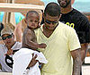 Photo of Usher and His Son Together in Miami