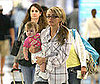 Photo of Jamie Lynn Spears and Maddie Aldridge at LAX