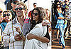 Photos of Matthew McConaughey, Camila Alves, Levi McConaughey at MaliBlue Music Festival