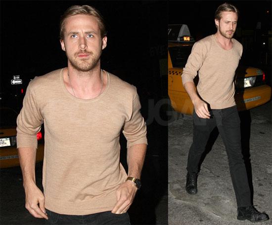 Ryan Gosling in the West Village