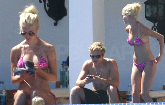 Heidi Montag and Spencer Pratt in Cabo