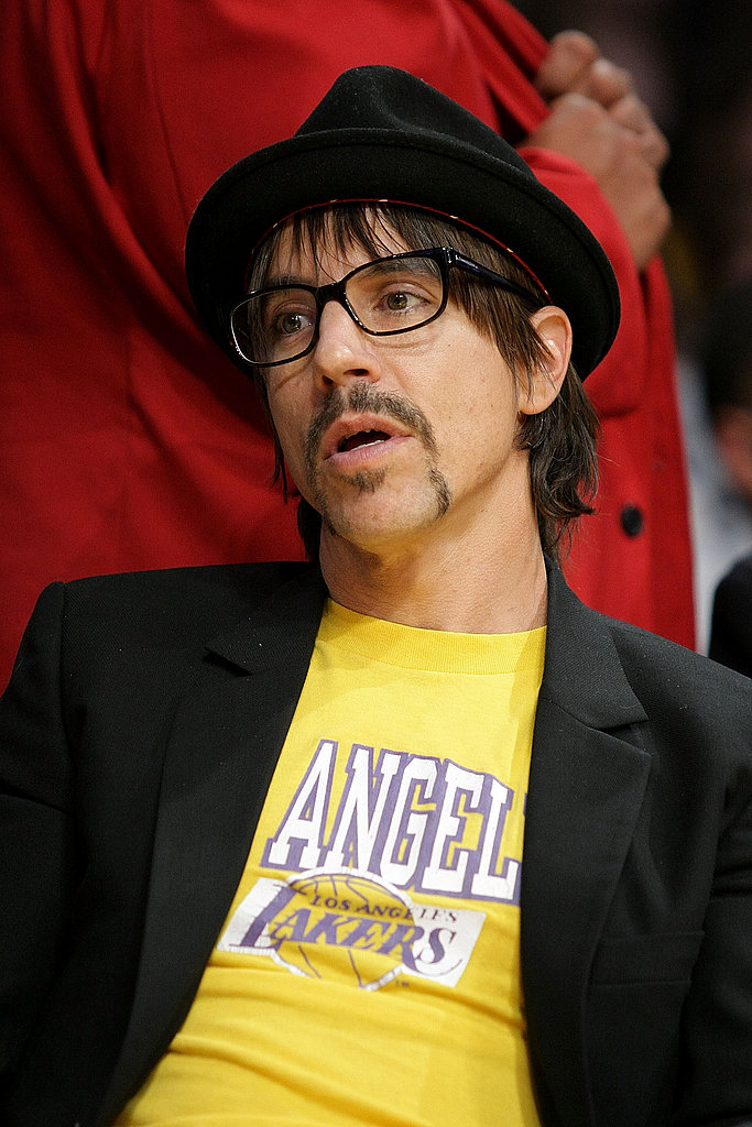 Celebrities Attend The Lakers Game