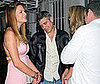 Photo of George Clooney Flirting in Miami