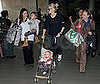 Photo of Gwen Stefani with Sons Kingston and Zuma at LAX