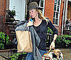 Photo of Gisele Bundchen Leaving Her NYC Home
