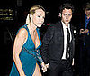 Photo of Blake Lively and Penn Badgley at the Costume Gala