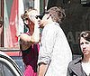 Photo of Joshua Jackson kissing Diane Kruger Kissing in Paris