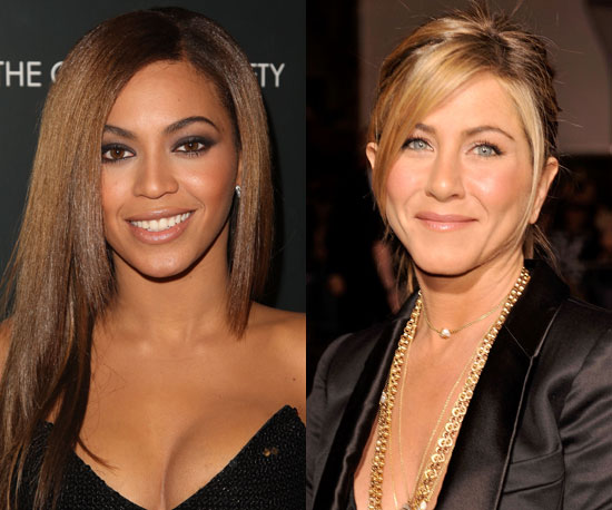 Beyonce vs. Jennifer Aniston