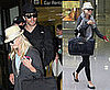 Photos of Reese Witherspoon and Jake Gyllenhaal Arriving at LAX From Italy