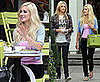 Photos of Heidi Montag Having Lunch with Her Sister-in-Law Stephanie Pratt in LA