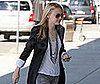 Photo Slide of Dakota Fanning Leaving Vancouver and the New Moon Set