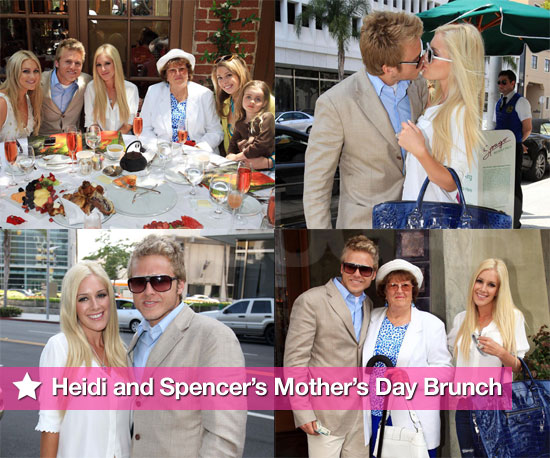 Photos of Heidi Montag and Spencer Pratt on Mother's Day