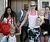Slide Photo of Blond Kingston, Zuma and Gwen Stefani