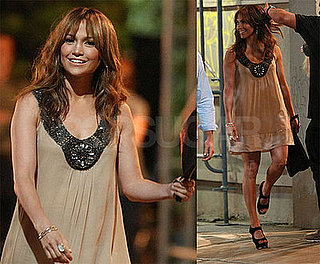 Photos of Jennifer Lopez Filming The Back-Up Plan in Pasadena